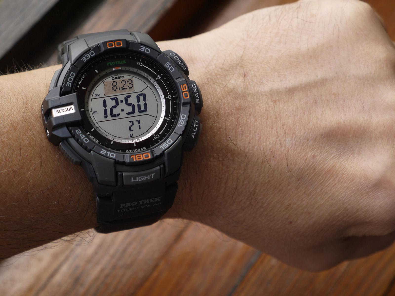Triple C Auto >> Casio ProTrek PRG-270-1 Watch ⋆ High Quality Watch Gallery
