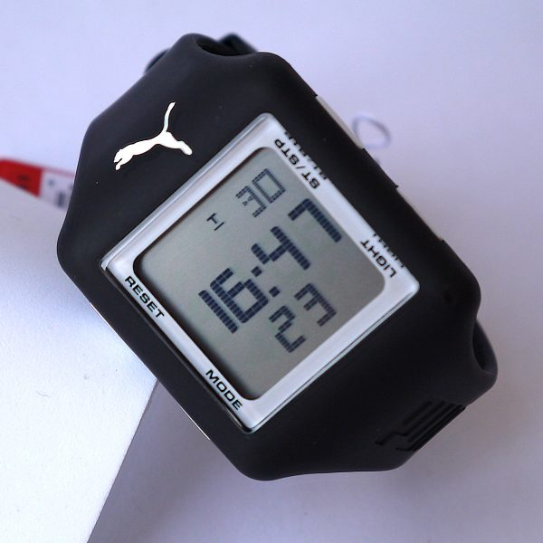 puma slide black watch