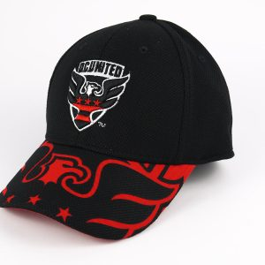 Cap Adidas MLS Black Red DC United
