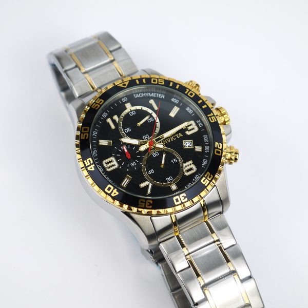 Invicta 14876 Specialty Chronograph 18k Gold Ion-Plated and Stainless Steel Watch_10