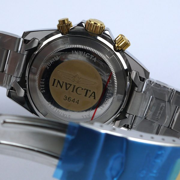 Invicta 3644 Speedway Two Tone Stainless Steel Watch_05