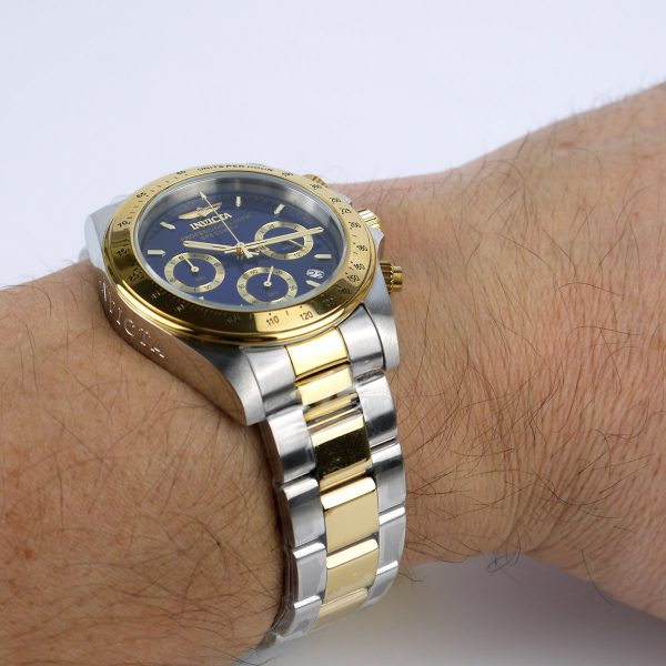 Invicta 3644 Speedway Two Tone Stainless Steel Watch_08