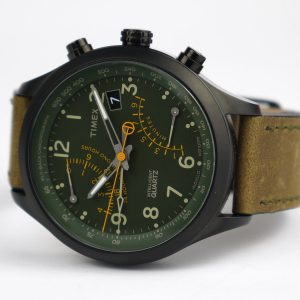 Timex T2P381 Intelligent Quartz Fly-Back Chronograph Watch