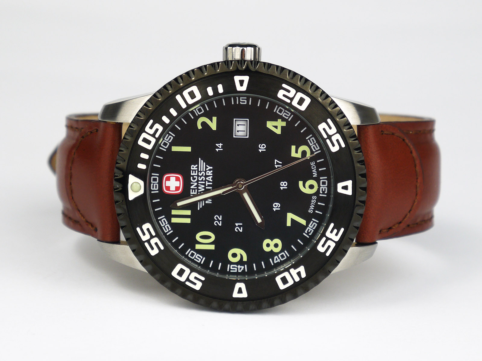 Wenger Swiss Military 79284c Roadster Steel Watch ⋆ High