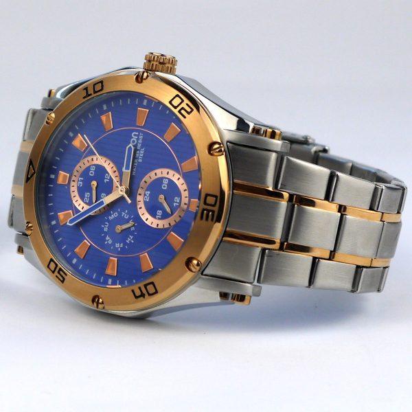 Armitron Men's 20-4957BLTR Multi-Function Blue Dial Two-Tone Bracelet Watch_03