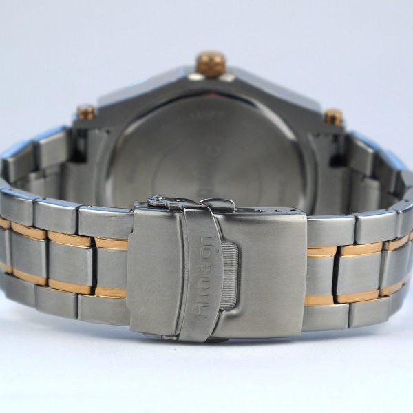 Armitron Men's 20-4957BLTR Multi-Function Blue Dial Two-Tone Bracelet Watch_04
