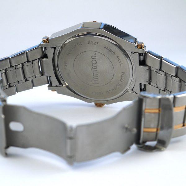 Armitron Men's 20-4957BLTR Multi-Function Blue Dial Two-Tone Bracelet Watch_05