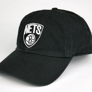 Cap 47 Brand NBA Brooklin Nets Black