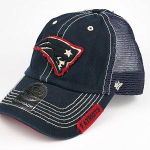 Mesh Cap 47 Brand NFL New Englang Patriots Dark Blue