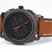 Fossil Mens FS5234 Machine Chronograph Luggage Leather Watch_03