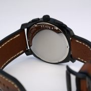 Fossil Mens FS5234 Machine Chronograph Luggage Leather Watch_06