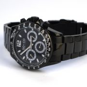 SO&CO New York Men's 5001.3 Monticello Black Bracelet Watch