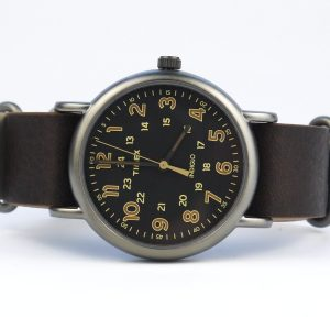 Timex Tw2P85800 Weekender Oversized Vintage-Style Watch