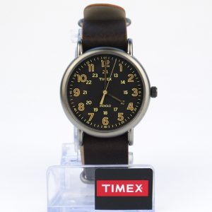 Timex Tw2P85800 Weekender Oversized Vintage-Style Watch
