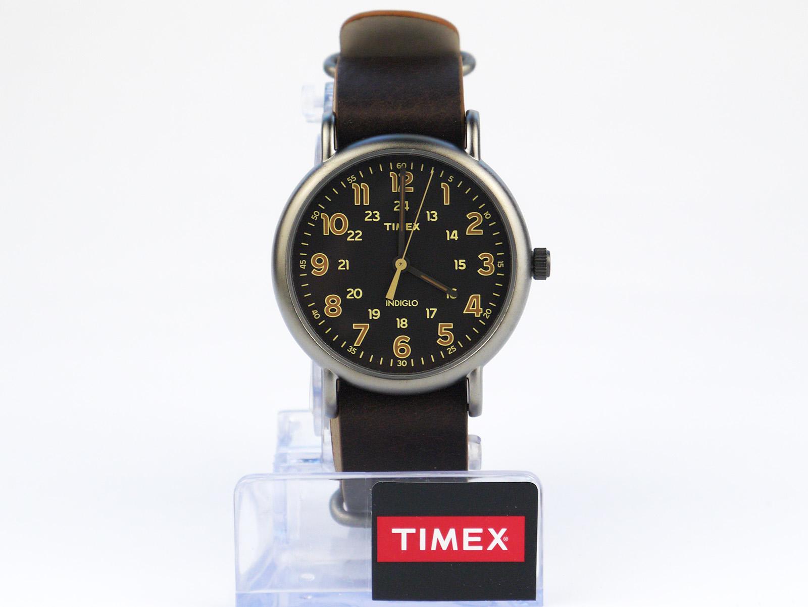 Timex Tw2p85800 Weekender Oversized Vintage Style Watch