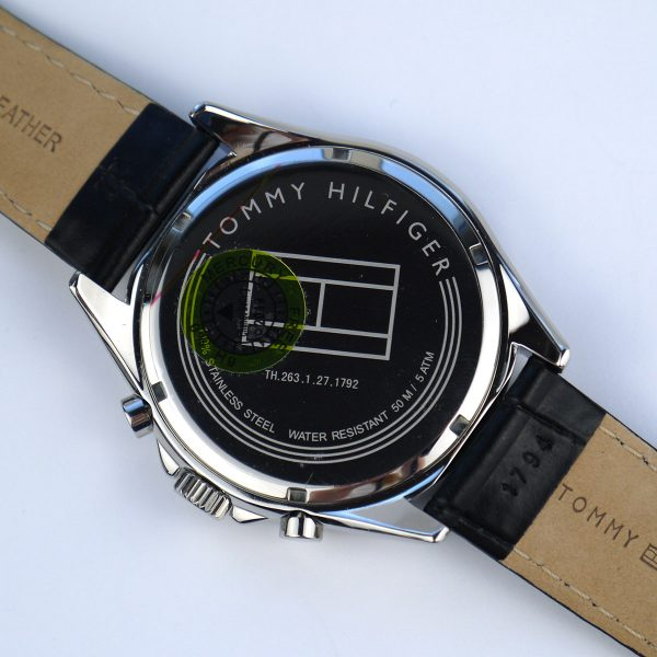 Tommy Hilfiger 1791117 Sophisticated Sport Watch With Black Leather Band_03