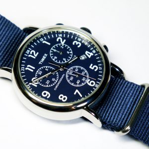 imex_TW2P71300_Weekender_Collection_Blue_Watch_With_Blue_Nylon_Band
