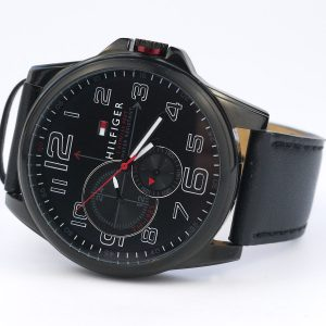 Tommy Hilfiger 1791005 Analog Display Japanese Quartz Black Watch