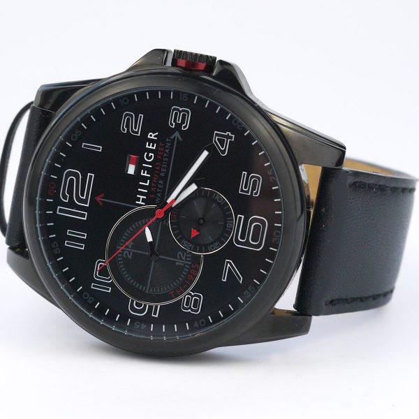 Tommy Hilfiger 1791005 Analog Display Japanese Quartz Black Watch