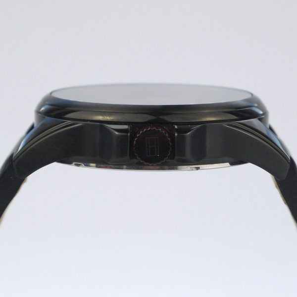 Tommy Hilfiger 1791005 Analog Display Japanese Quartz Black Watch_05
