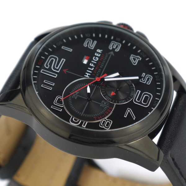 Tommy Hilfiger 1791005 Analog Display Japanese Quartz Black Watch_06