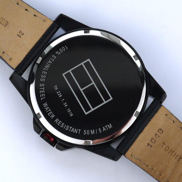 Tommy Hilfiger 1791005 Analog Display Japanese Quartz Black Watch_07