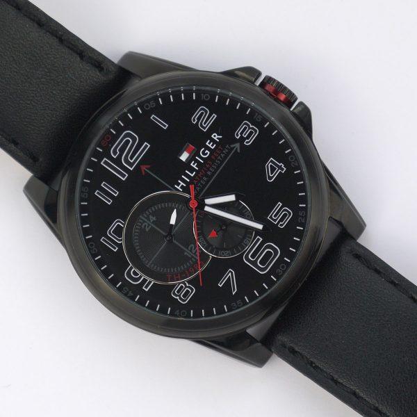 Tommy Hilfiger 1791005 Analog Display Japanese Quartz Black Watch_08