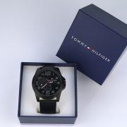 Tommy Hilfiger 1791005 Analog Display Japanese Quartz Black Watch_09