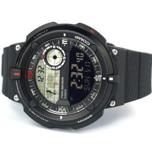 Casio SGW-600H-1BCF Twin Sensor Black Watch