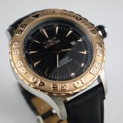 Invicta 12617 Pro Diver Stainless Steel Watch With Black Leather Band_09