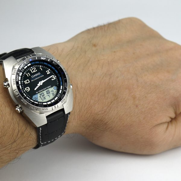 Casio AMW700B-1AV Ana-Digi Forester Fishing Timer Watch_09