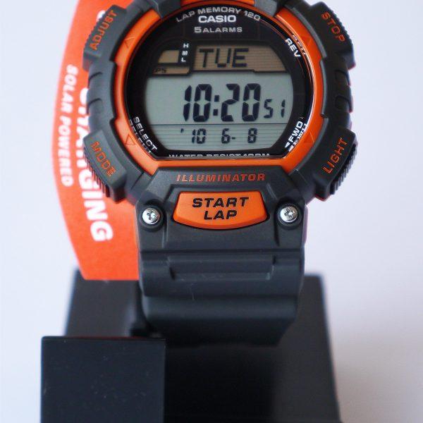 Casio STL-S100H-4AV Tough Solar Stainless Steel Fitness Watch