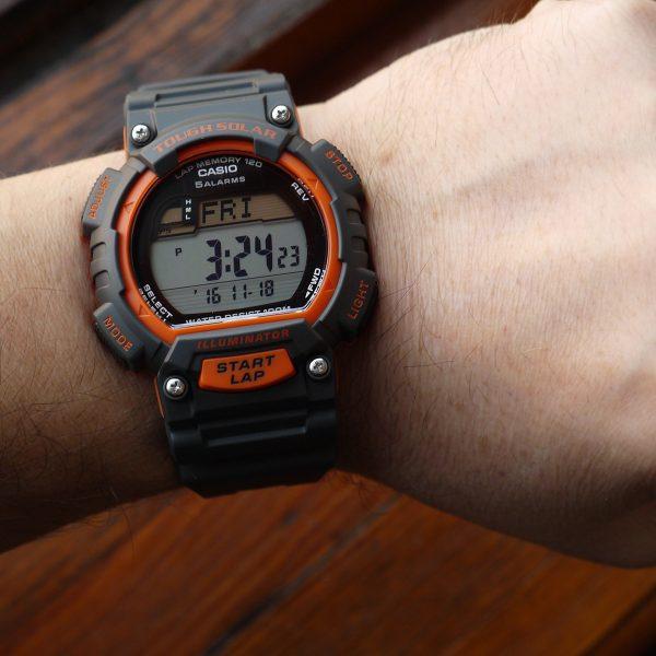 Casio STL-S100H-4AV Tough Solar Stainless Steel Fitness Watch_06