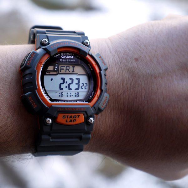Casio STL-S100H-4AV Tough Solar Stainless Steel Fitness Watch_07