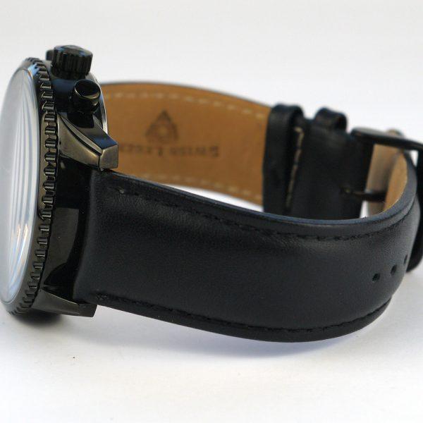 Swiss Legend Men's 30721-BB-01 Skyline Analog Display Swiss Quartz Black Watch_03