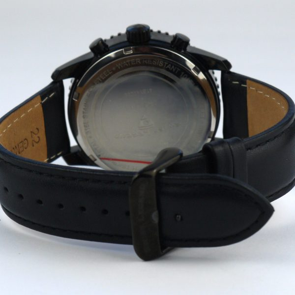 Swiss Legend Men's 30721-BB-01 Skyline Analog Display Swiss Quartz Black Watch_04