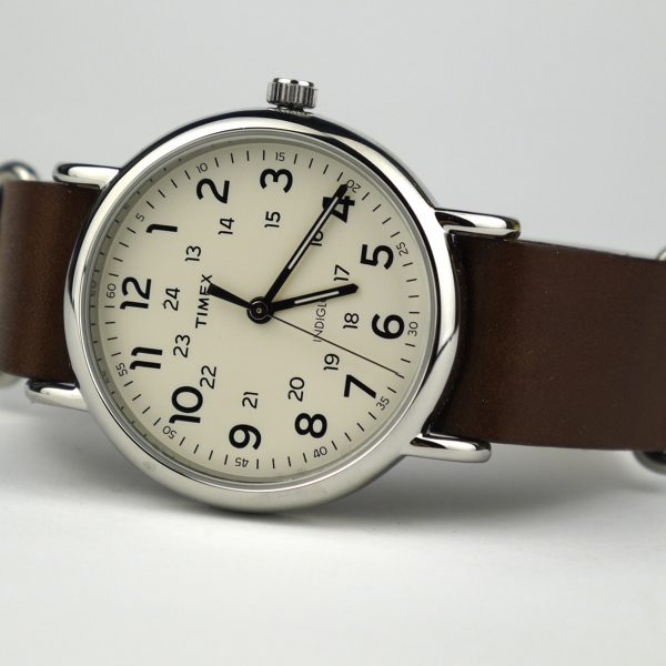 Timex T2P495 Weekender 40mm Case Slip-Thru Strap Watch