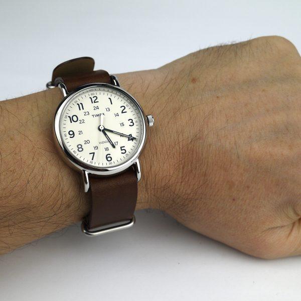 Timex T2P495 Weekender 40mm Case Slip-Thru Strap Watch_09