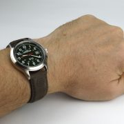 Timex T40051 Expedition Metal Field Olive Dial Brown Leather Strap Watch_08