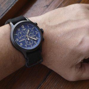Timex Tw4B04200 Expedition Scout Chronograph Analog Quartz Watch