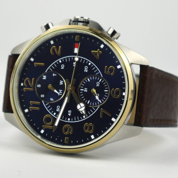 Tommy Hilfiger TH 302.1.20.2077 Quartz Stainless Steel and Leather Casual Watch
