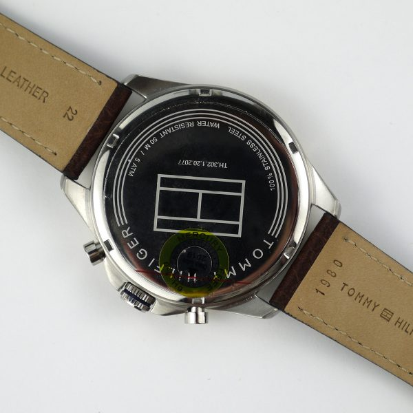 Tommy Hilfiger TH 302.1.20.2077 Quartz Stainless Steel and Leather Casual Watch_07
