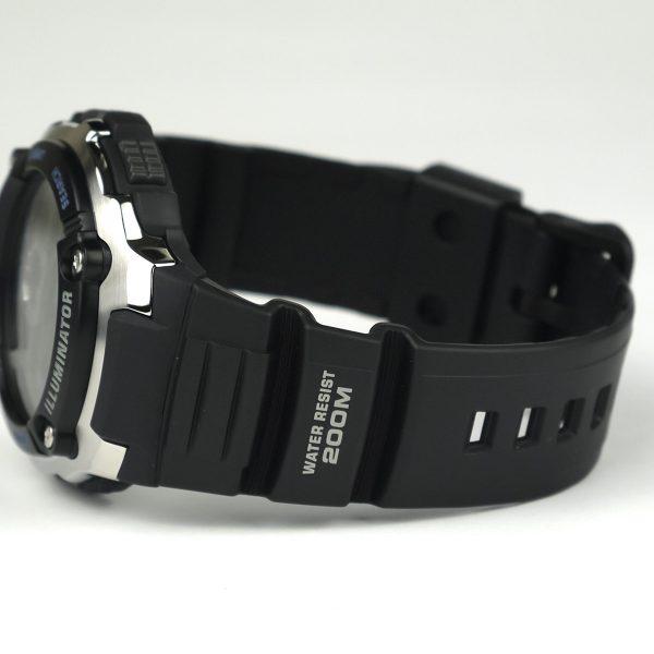 Casio AE2000W-1AV Silver-Tone and Black Multi-Functional Digital Sport Watch_03