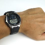 Casio AE2000W-1AV Silver-Tone and Black Multi-Functional Digital Sport Watch_08
