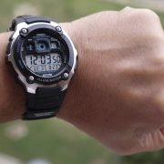 Casio AE2000W-1AV Silver-Tone and Black Multi-Functional Digital Sport Watch_09