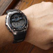 Casio AE2000W-1AV Silver-Tone and Black Multi-Functional Digital Sport Watch_10