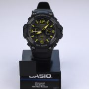 Casio MCW-100H-9AV Heavy Duty-Design Chronograph Black Yellow Watch_02