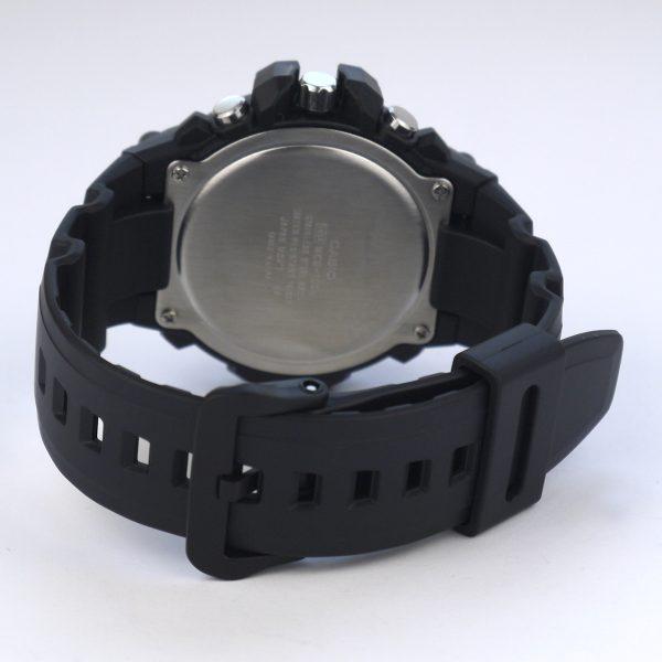 Casio MCW-100H-9AV Heavy Duty-Design Chronograph Black Yellow Watch_04