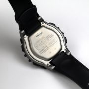 Timex TW5M03400 Ironman Classic 100 Full-Size Black Green Resin Strap Watch_06