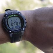 Timex TW5M03400 Ironman Classic 100 Full-Size Black Green Resin Strap Watch_08
